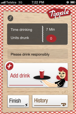 Add drink screen