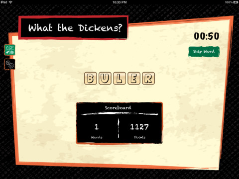 Sample game screen